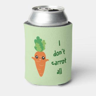 Porta-lata Engraçado eu não faço cenoura todos os desenhos