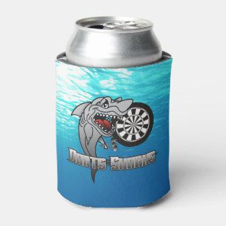 Porta-lata Equipe dos dardos dos tubarões dos dardos