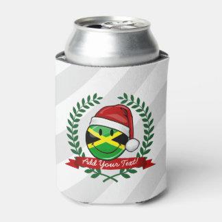 Porta-lata Estilo jamaicano alegre do Natal da bandeira