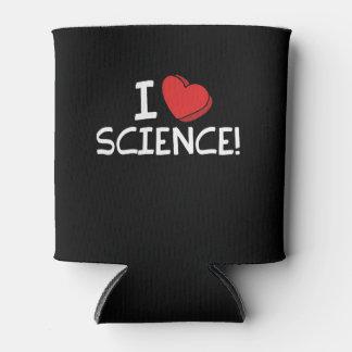 Porta-lata eu amo a ciência