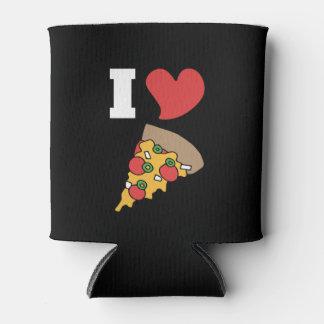 Porta-lata eu amo a pizza
