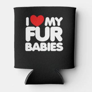 Porta-lata Eu amo meus bebês da pele