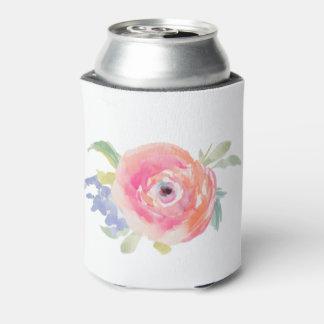 Porta-lata Festa de solteira da noiva do rosa de rosas
