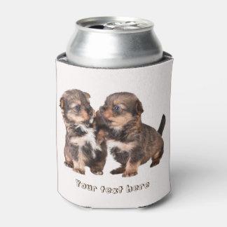 Porta-lata Filhotes de cachorro bonitos de Yorkshire