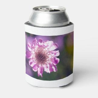 Porta-lata Flor de Scabiosa da lavanda