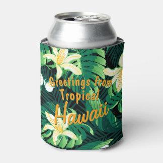 Porta-lata Floral luxúria tropical