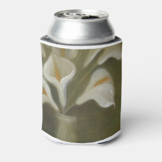 Porta-lata Flores de corte do Calla em um vaso