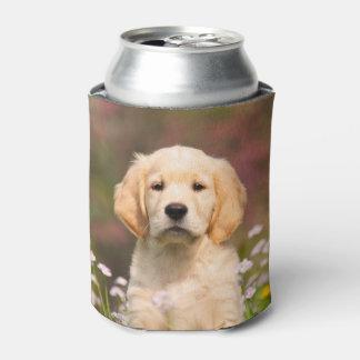 Porta-lata Foto bonito Bawdle da cara do filhote de cachorro