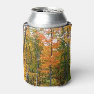 Porta-lata Fotografia da natureza do outono das árvores de