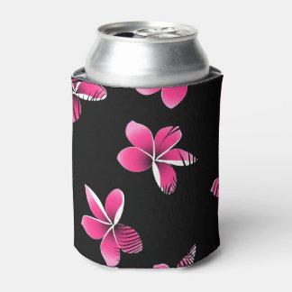 Porta-lata Frangipani cor-de-rosa