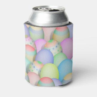 Porta-lata Fundo colorido dos ovos da páscoa