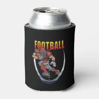 Porta-lata Futebol que funciona para trás