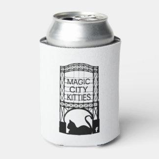 Porta-lata Gatinhos mágicos Coozie da cidade