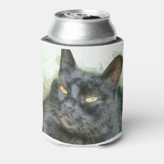 Porta-lata Gato preto