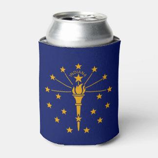 Porta-lata Gráfico dinâmico da bandeira do estado de Indiana