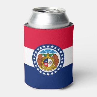 Porta-lata Gráfico dinâmico da bandeira do estado de Missouri