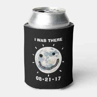 Porta-lata Grande eclipse solar americano eu estava lá