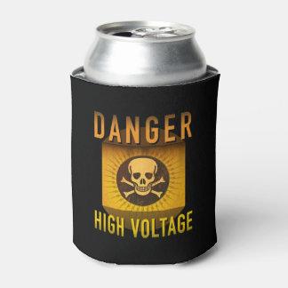 Porta-lata Grunge retro de alta tensão da idade atômica do