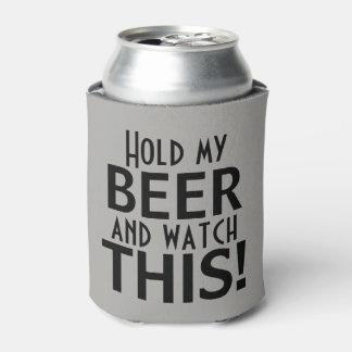 Porta-lata Guardare minha cerveja e olhe este | engraçado