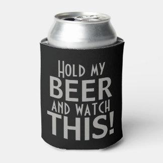 Porta-lata Guardare minha cerveja e olhe este | preto &