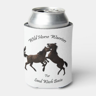 Porta-lata Guerreiros do cavalo selvagem