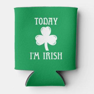 Porta-lata Hoje eu sou irlandês Koozie