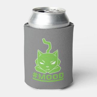 Porta-lata Ilustração do logotipo do limão do gato do #MOOD
