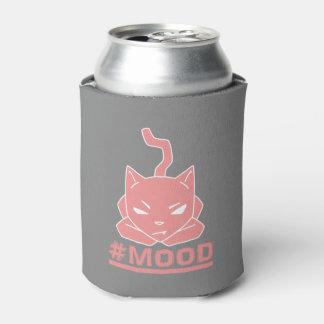 Porta-lata Ilustração do logotipo do rosa do gato do #MOOD