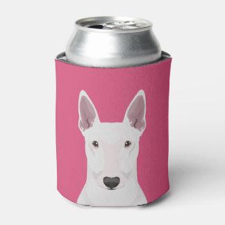 Porta-lata Inglês bull terrier