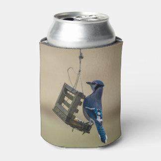 Porta-lata Jay azul de balanço