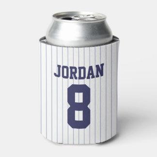 Porta-lata Jérsei de basebol - festa de aniversário do tema