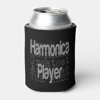 Porta-lata Jogador da harmônica Extraordinaire
