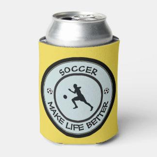 Porta-lata Jogador de futebol