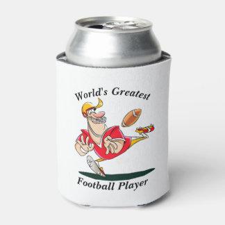 Porta-lata Jogador de futebol do mundo o grande