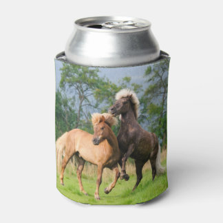 Porta-lata Jogo engraçado dos cavalos islandêses - Bawdle