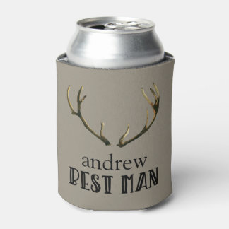 Porta-lata Lata de cerveja de Coozie dos Antlers do homem do