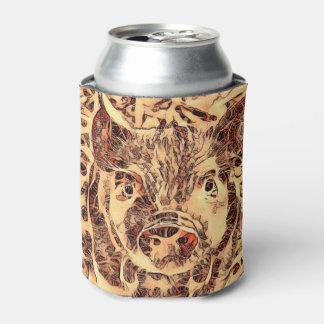 Porta-lata Leitão surpreendente animal de ArtsStudio-