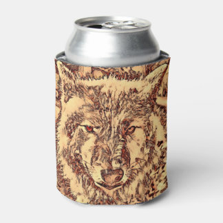 Porta-lata Lobo surpreendente animal de ArtsStudio-