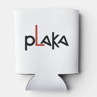 Porta-lata Logotipo de Plaka