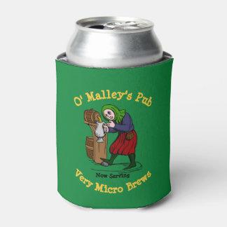 Porta-lata Logotipo Home personalizado do bar do cervejeiro
