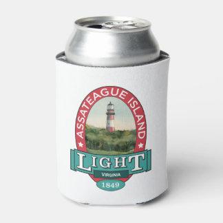 Porta-lata Luz da ilha de Assateague