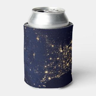 Porta-lata Luzes da NASA do espaço EUA