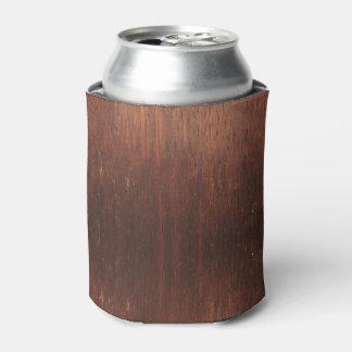 Porta-lata Madeira de Brown escuro