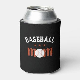 Porta-lata Mamã do basebol do fã de esportes do vintage