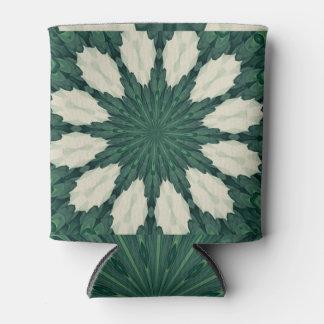 Porta-lata Mandala. da folha verde e de prata de Sacramento