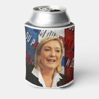 Porta-lata Marine Le Pen