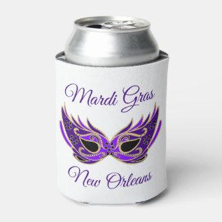 Porta-lata Máscara de Nova Orleães do carnaval