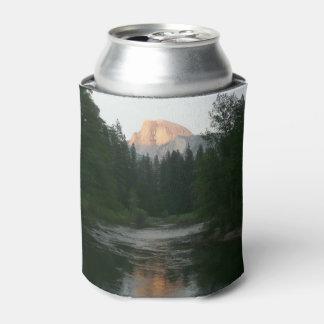 Porta-lata Meio por do sol da abóbada no parque nacional de