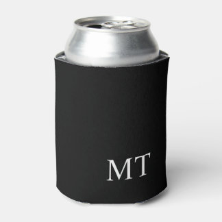 Porta-lata Monograma personalizado moderno