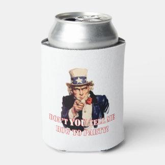 Porta-lata Não faz você refrigerador da lata de bebida do 4